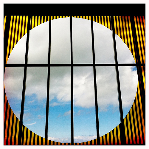 Daniel Buren at the Turner Contemporary gallery, Margate