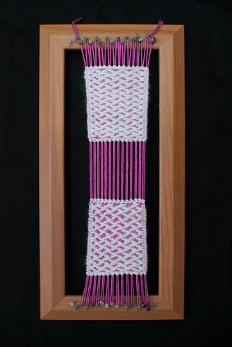Weaving project #11 on the loom