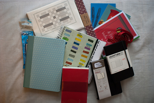 My Christmas stationery haul