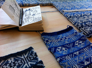 Fair Isle Knitwear by Mati Ventrillon