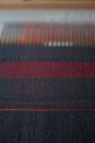 On the loom - close