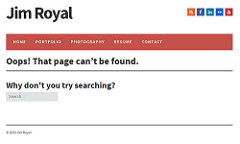Jim Royal's page