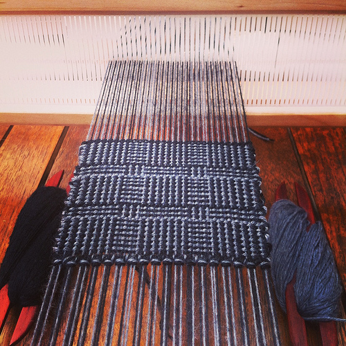 Weaving project 31: Panel 3