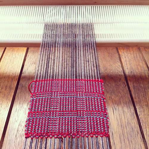 Weaving project 31: Panel