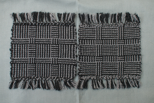 Weaving project 31: Panels 2 and 3