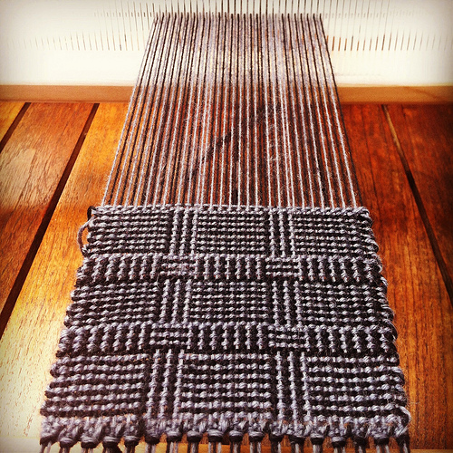 Weaving project 31: Panel 2
