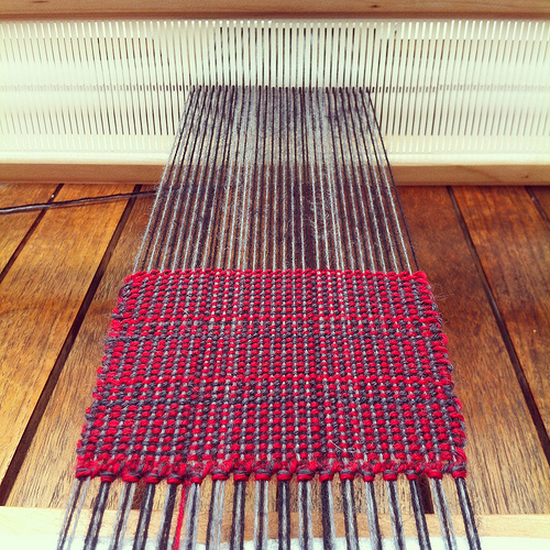 Weaving project 31: Panel 4