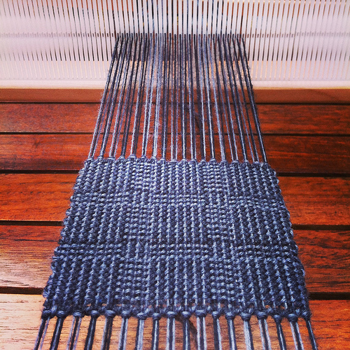 Weaving project 31: Panel 8